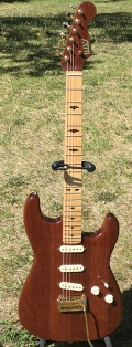 Custom Built Santos Mahogany Stratocaster. Artist Collection. Not for sale.