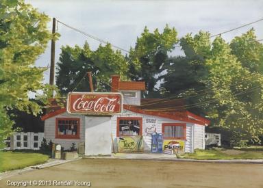 Cola Wars 28 x 20 Framed $1495