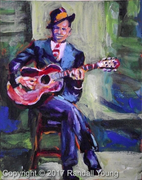 Man of the Blues SOLD