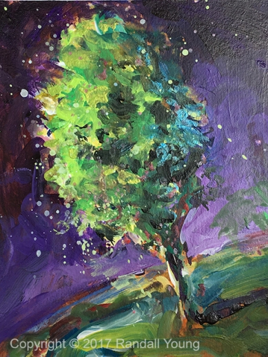Night Tree SOLD