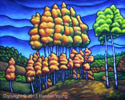 The Stand Oil on Panel SOLD