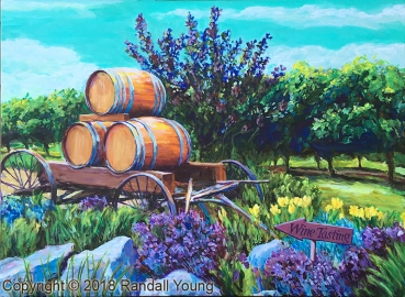 The Wine Wagon SOLD Prints available