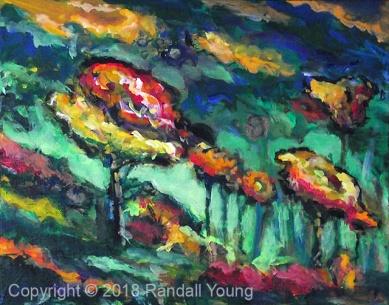 Dreamscape 1 10 x 8 Acrylic on Panel $125